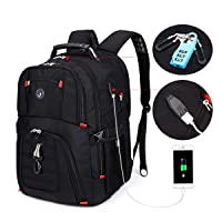 SOLDIERKNIFE Extra Large Durable 50L Travel Laptop Backpack School Backpack Travel...