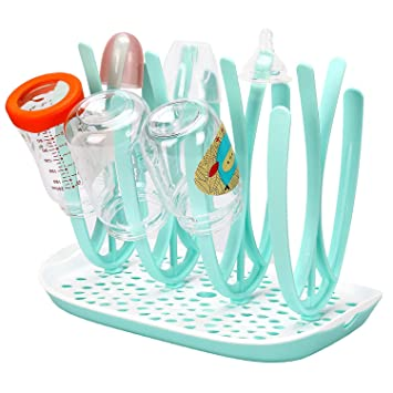 BPA-Free Large Baby Kids Bottle Drying Rack for Bottles and Bottle Accessories