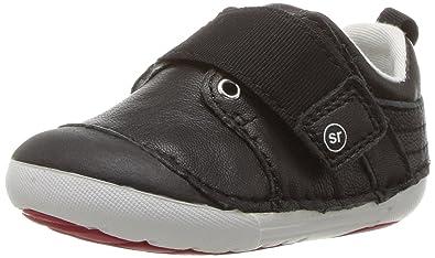 c1bda4538b6934 Stride Rite Boys  Soft Motion Cameron Sneaker Black 3 Medium US Infant