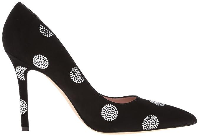 6981b394e460 Amazon.com  Kate Spade New York Women s Libby Black Suede 5 UK 5 M US  Shoes