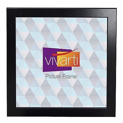 Matt Black Picture Frame 30 X 30 Cm Amazoncouk Kitchen Home