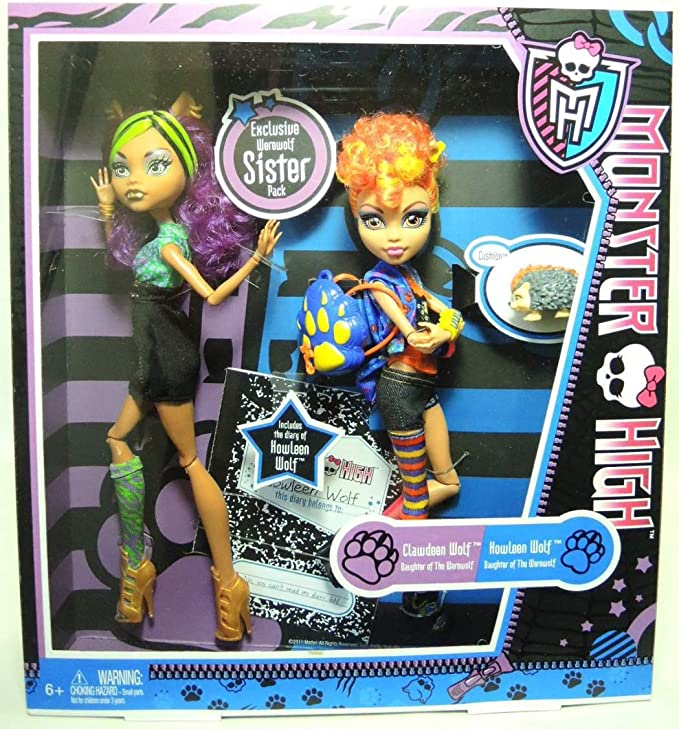 Amazon.es: Monster High Howleen Y Clawdeen: Juguetes y juegos