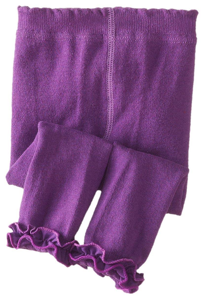 Jefferies Socks Baby Girls Ruffle Footless Tight