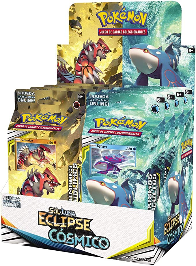Pokemon - Baraja temático Sol y Luna Eclipse Cósmico (Bandai ...