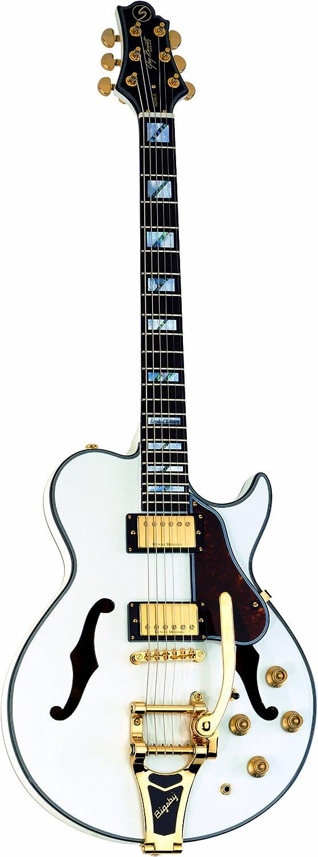 Greg Bennett Royale 4 Ltd – Guitarra eléctrica, color blanco perla ...