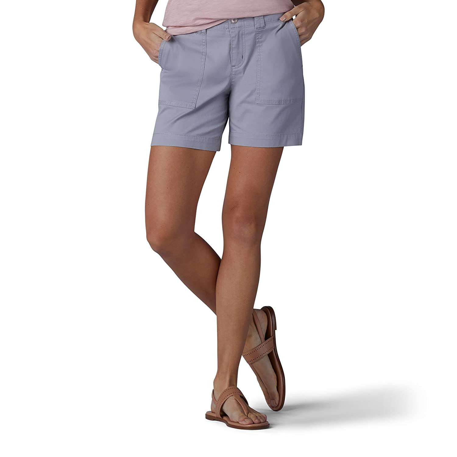 LEE Wohommes Straight Fit Kinsey courte, Alloy, 10