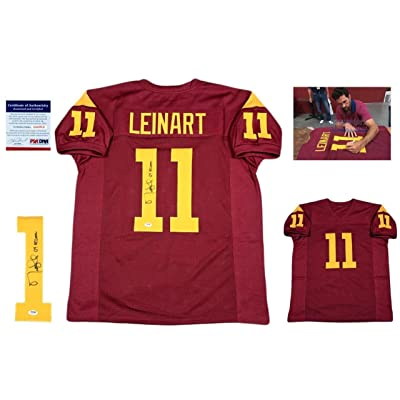 Matt Leinart Autographed Jersey - Photo Burgundy - PSA DNA Certified -  Autographed College Jerseys 56e67eaf0