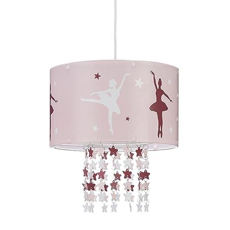 Relaxdays 10022847 Lampadario Da Soffitto Per Bambina Lampada A