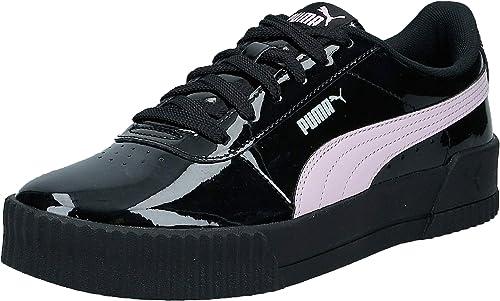 chaussure puma femme noir brillante