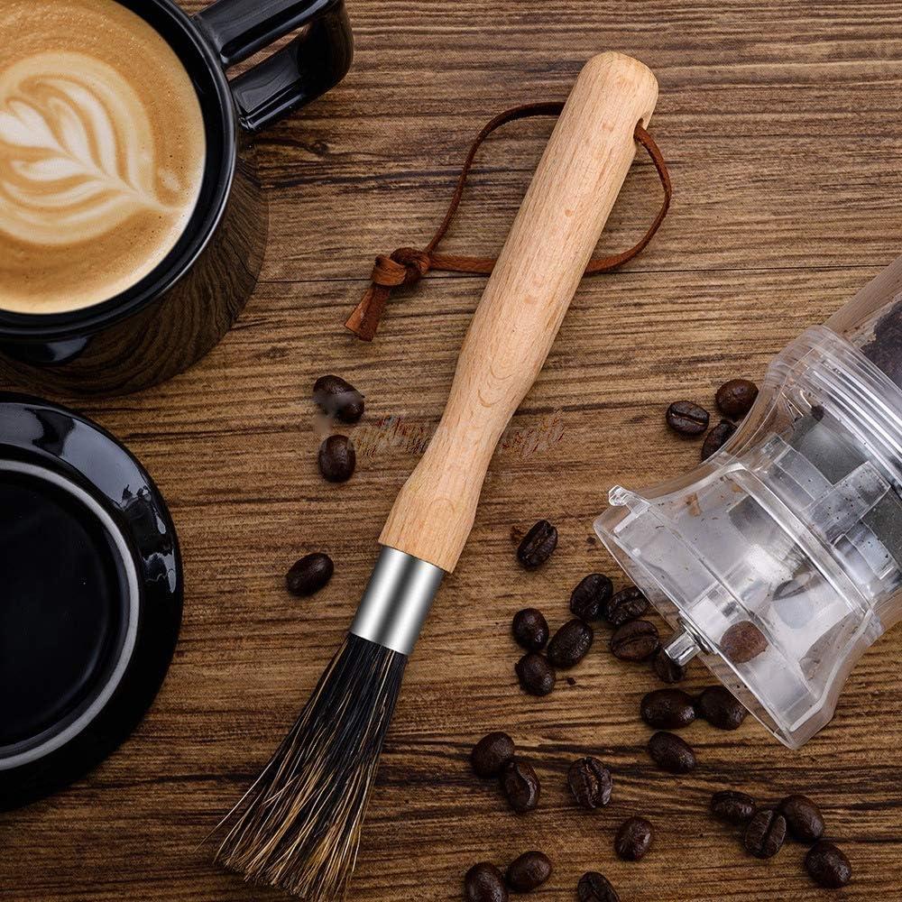 HyQuality JP コーヒーミルブラシ クリーニング お手入れ エスプレッソブラシ コーヒーグラインダークリーンブラシ