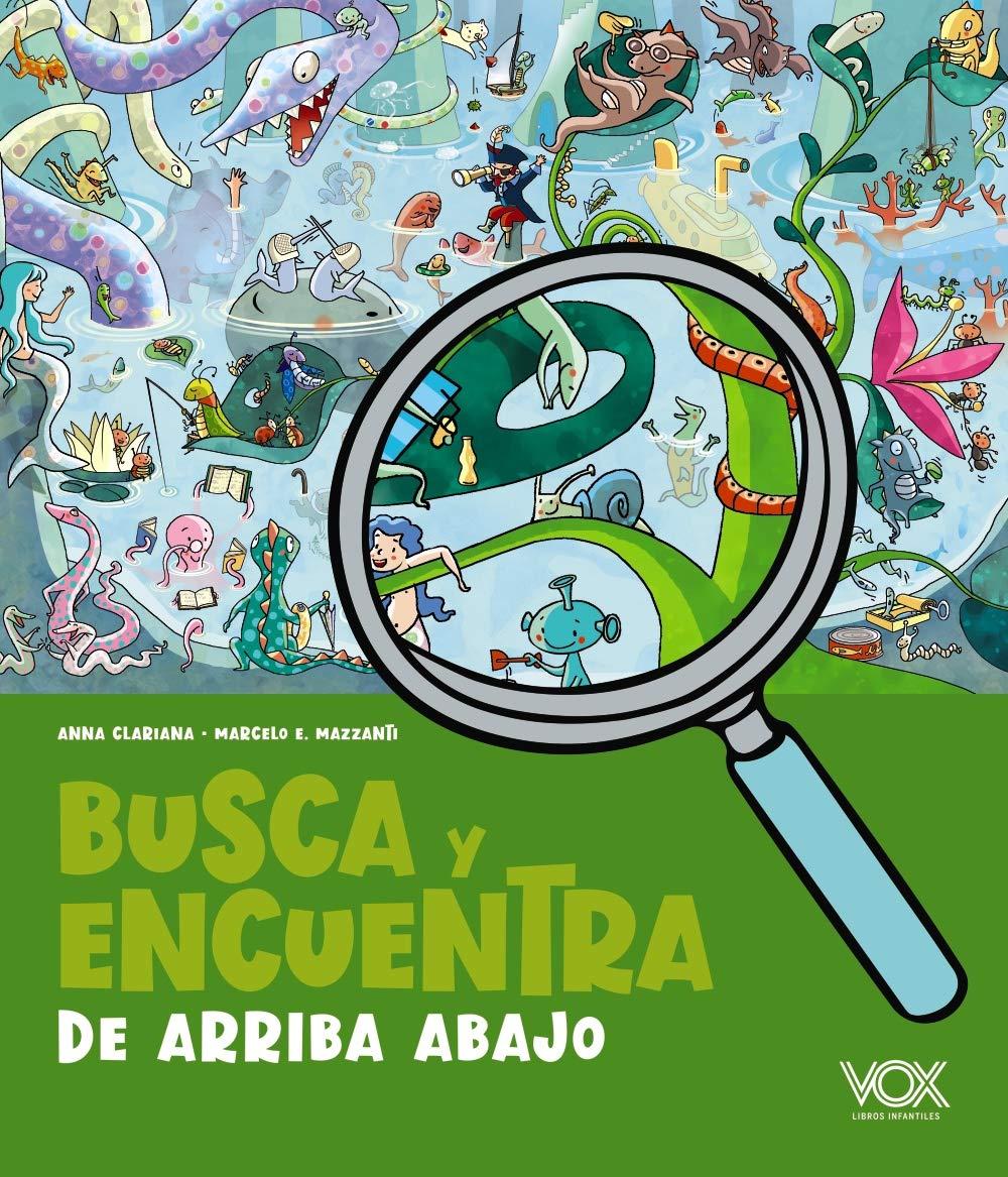 Busca y encuentra de arriba abajo (VOX - Infantil / Juvenil - Castellano - A partir de 5/6 años - Juguemos a...)