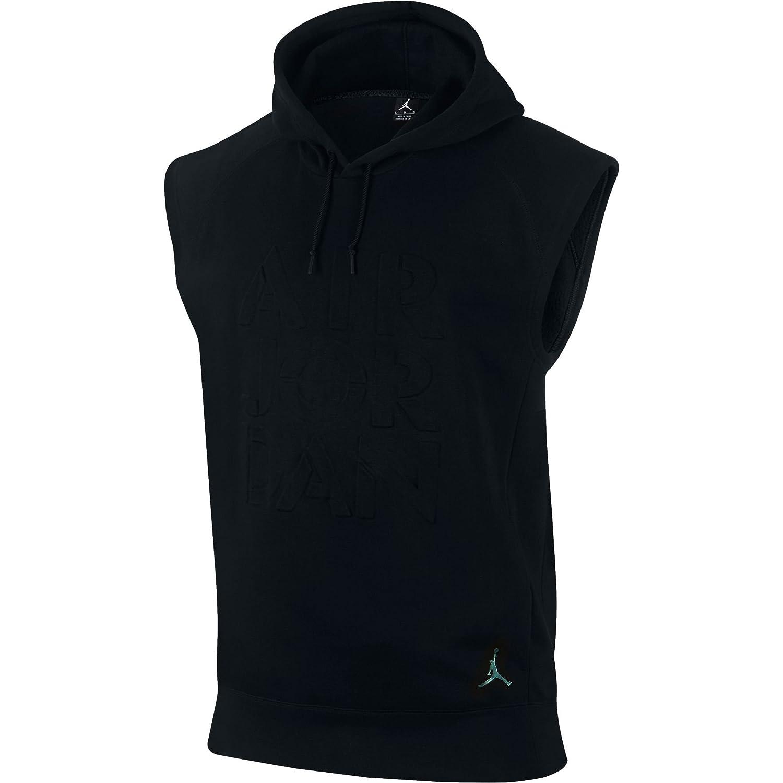 ea3c876e47c4 Jordan Pinnacle Men s Sleeveless Pullover Hoodie Black 844298-010 (Size  2X)  Amazon.ca  Clothing   Accessories