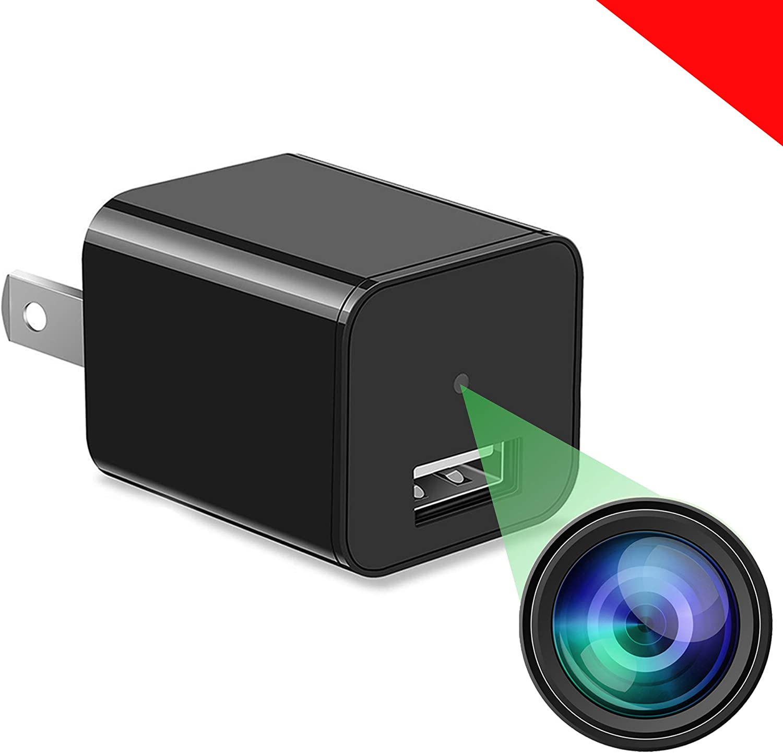 Spy Camera Charger - Hidden Camera - Premium HD 1080P - Best Spy Charger - USB Charger Camera - Hidden Spy Camera - Camara Espia - Nanny Camera - Mini Spy Camera - Hidden Cam - Surveillance Camera