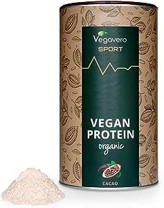 BIO Vegan Protein Powder Vegavero SPORT®   Proteínas Isolate de Guisante y Arroz   SIN GLUTEN – SIN SOJA   Suplemento Para Aumentar Masa Muscular   ...
