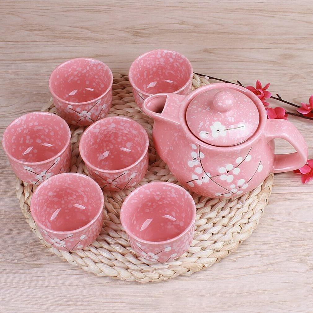 L Y Keramik Kung Fu Tee Set Unterglasur 1 Teekanne 6 Teetasse Geschenk Geschenk
