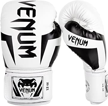 Oferta amazon: Venum Elite - Guantes de Boxeo Talla 12 oz