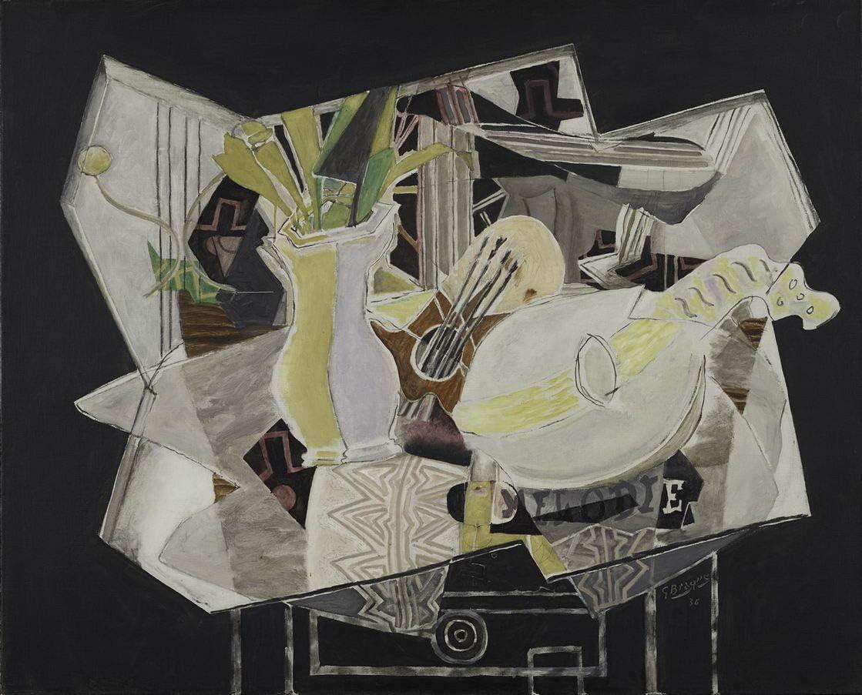 Georges Braque Giclee Imprimir en lienzo-Pinturas famosas Arte ...
