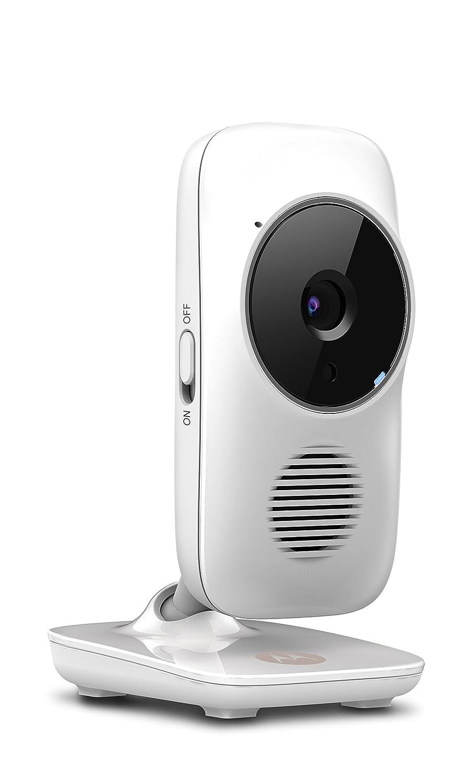 modo eco C/ámara de v/ídeo vigilabeb/és port/átil con Wi-Fi alertas para movimiento sonido y temperatura ambiente y compatible con Stargrip Motorola MBP 67 Connect