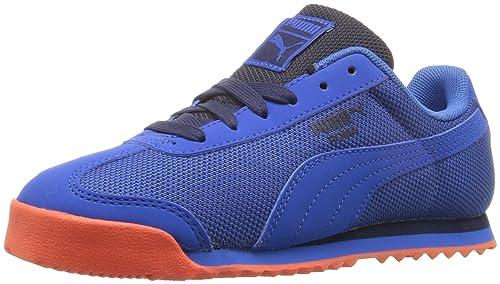 Zapatillas de deporte Roma HM Kids (Liitle Kid), Puma Royal / Puma Roya, 3 M US Little Kid: Amazon.es: Zapatos y complementos