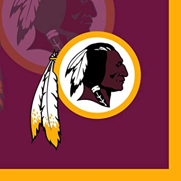 Image Unavailable. Image not available for. Color  Creative Converting 16  Count Washington Redskins Beverage Napkins ee173d29c