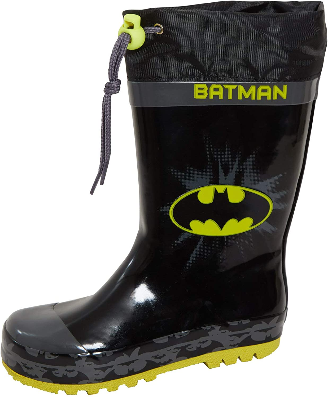 Boys Batman Wellingtons Tie Top