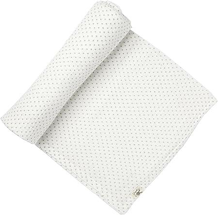 Petit Pehr - Wrap Me Up - 100% Algodón Bebé Arrullo/Muselina - Lunares - Gris 47x47ins: Amazon.es: Hogar