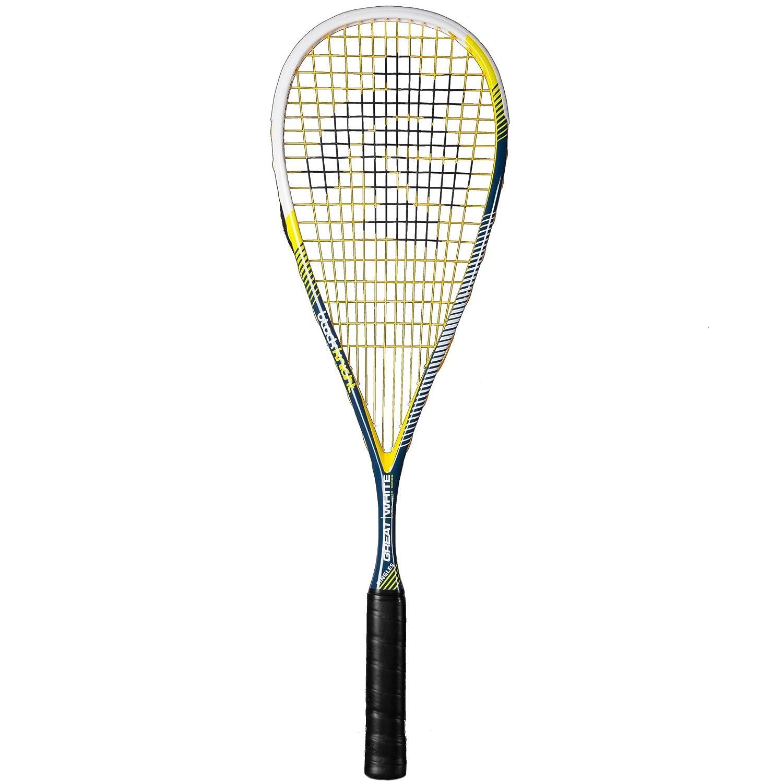 Black Knight Great White Singles Squash Racquet   B01MTLDE99