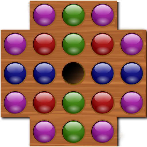 Jumping Marble Solitaire ()