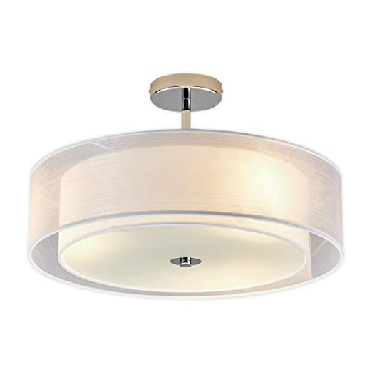 LED Lámpara de techo Pikka (Moderno) en Blanco hecho de ...