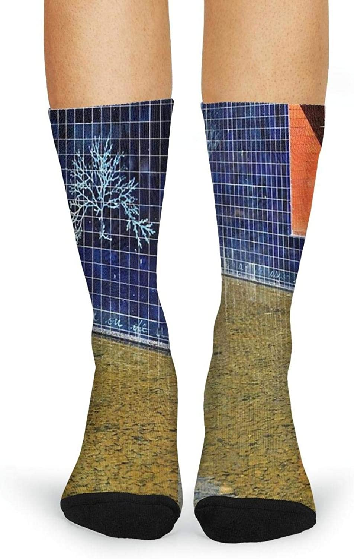 XIdan-die Womens Over-the-Calf Tube Socks girl reading book Moisture Wicking Casual Socks