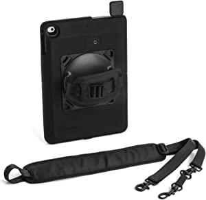 Kensington SecureBack Rugged Payment Enclosure and Carrying Straps for iPad Air and iPad Air 2 (K97907WW)