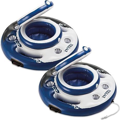 2 unidades Intex Mega Chill enfriador de flotante