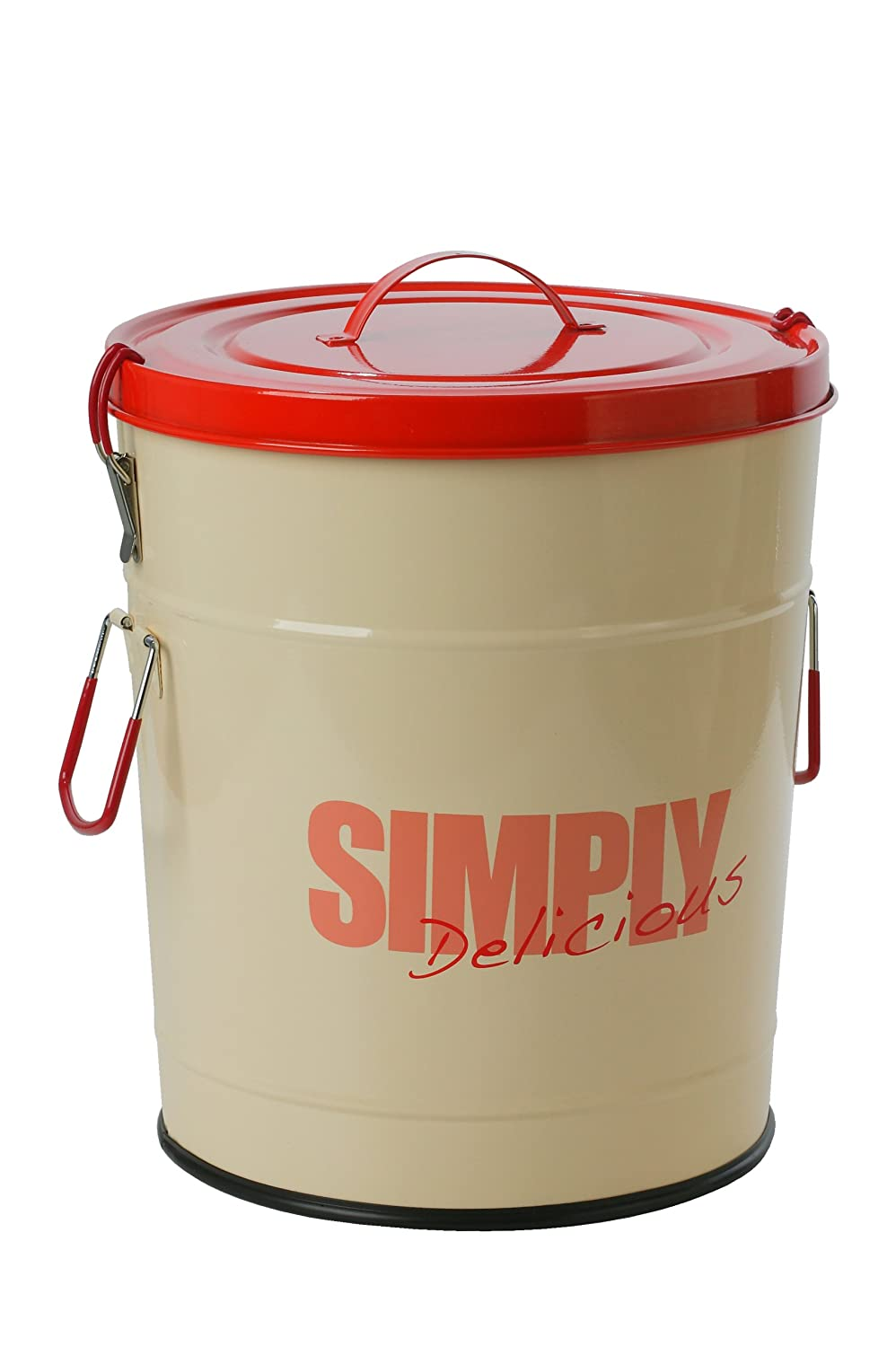 One for Pets 1106-RD-S Simply Delicious 17.6 lbs 8kg Food Can, Red