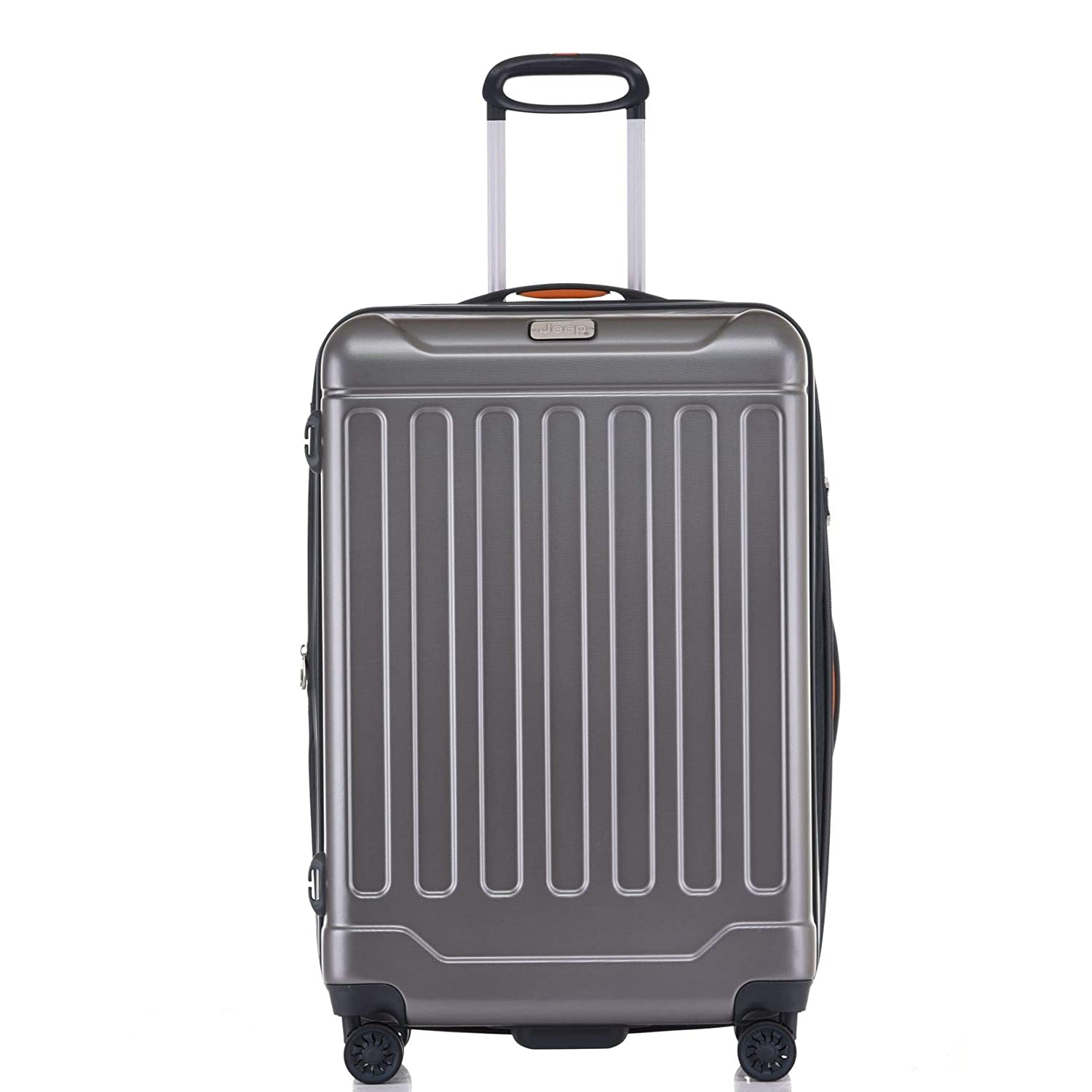 388993d22a Jeep ABS Hard Case 3 Piece Suitcase Trolley Tourist Bag with Spinner Wheels  (Dark Grey, 20, 25.2, 29-inches): Amazon.in: Bags, Wallets & Luggage