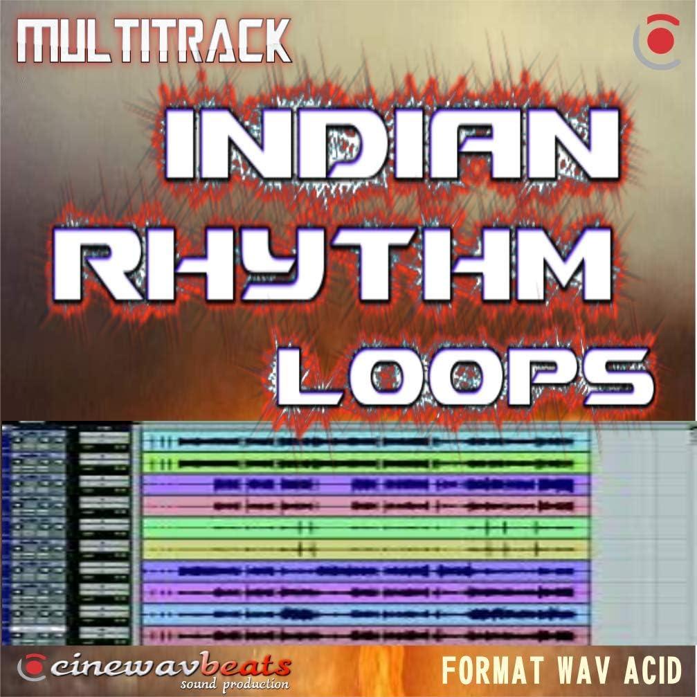 2 Black key D Sharp Minor ZIP Download version only Bpm 74 cb 1122 Multitrack Indian Rhythm Loops wav files