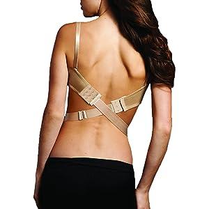 13296cfc68 Fashion Forms Women s Adjustable Low Back Converter Strap
