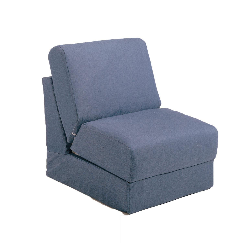 Fun Furnishings Teen Chair, Denim by Fun Furnishings