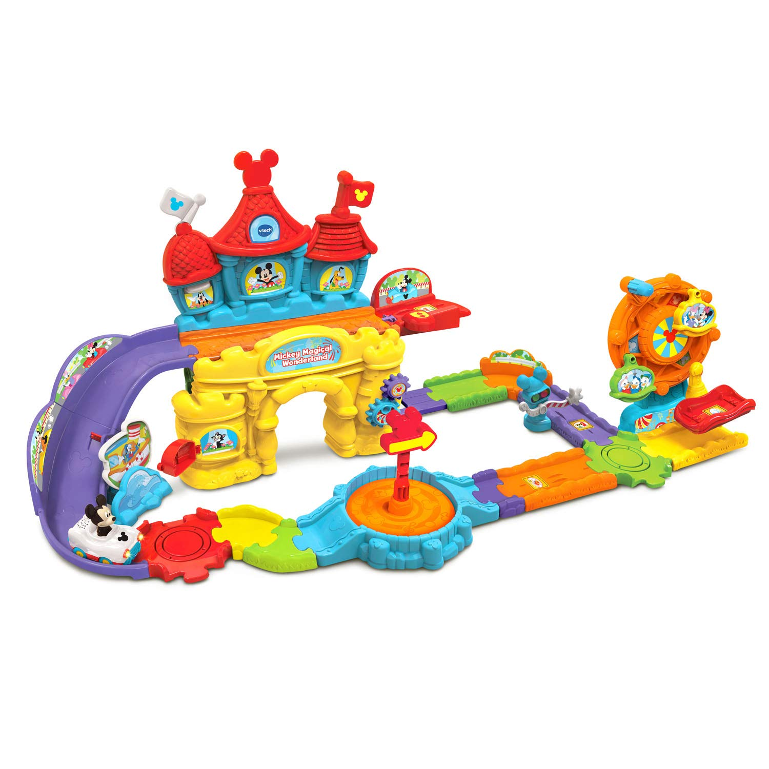 VTech Go! Go! Smart Wheels Mickey Mouse Magical Wonderland, Multicolor by VTech (Image #2)