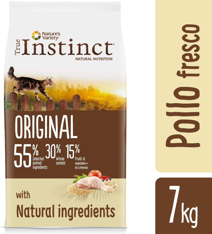 True Instinct Original Pollo Comida Para Gatos, 7 Kg: Amazon.es ...