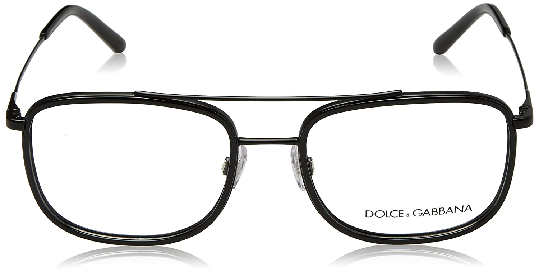 f2b3c919cfc Amazon.com  Eyeglasses Dolce  amp  Gabbana DG 1288 1106 MATTE BLACK BLACK   Clothing