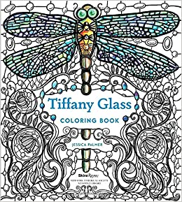 Amazoncom Tiffany Glass Coloring Book 9780847860708 Jessica