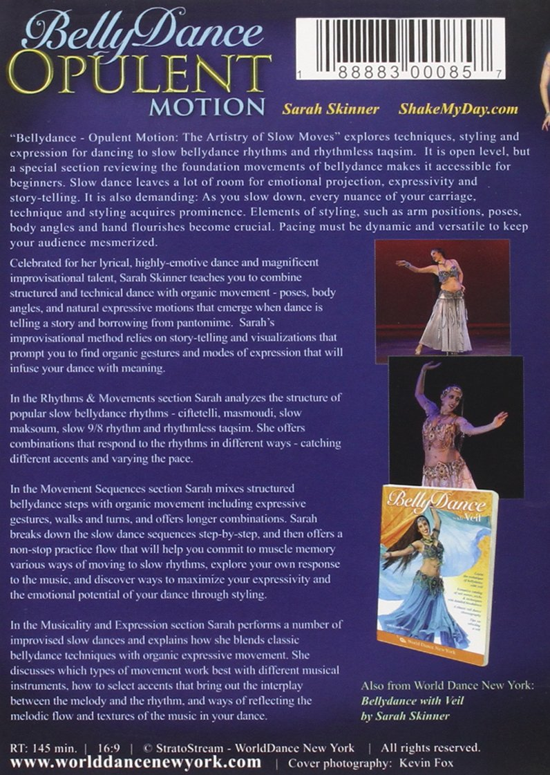 Amazon Bellydance Opulent Motion The Artistry Of Slow Moves
