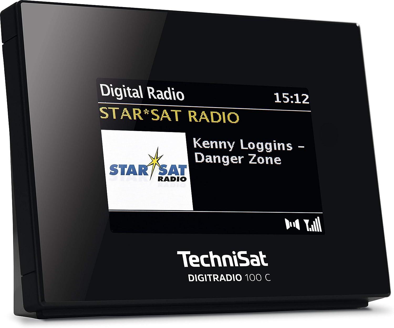 Radiowecker 1,8-Zoll-gro/ße eisblaue LED-Anzeige CKS508 USB-Aufladung Zwei Alarme iTOMA FM Digital Radiowecker Nachttisch-Wecker mit Nachtlicht automatische Dimmersteuerung