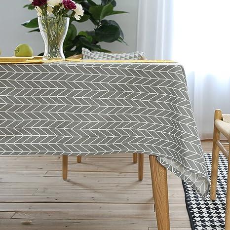Oyeahbridal geometrico in cotone lino tovaglia marocchino modello ...