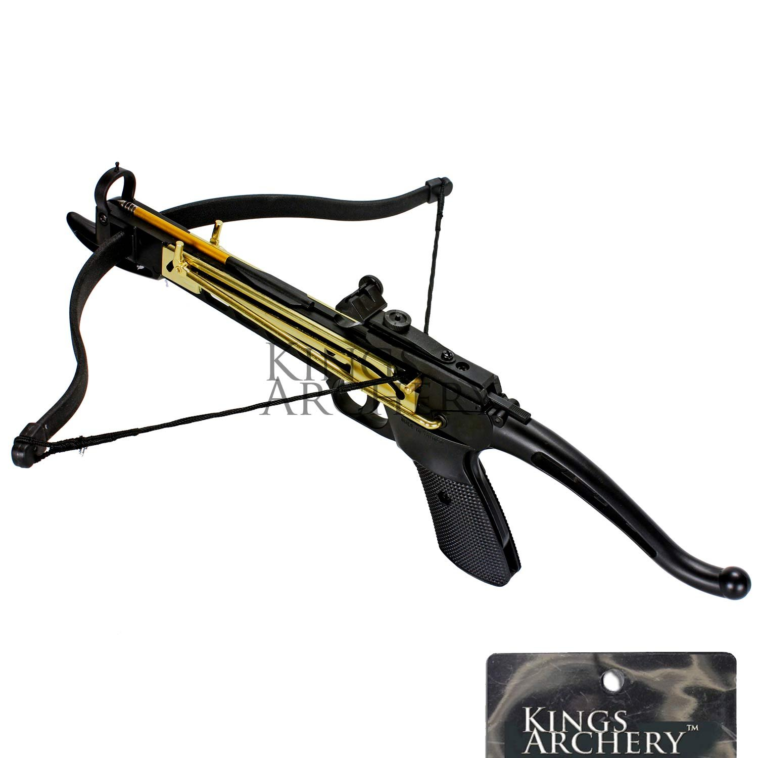 Crossbow Self-Cocking 80 LBS by KingsArchery® with Hunting Scope, 3 Aluminium Arrow Bolts, and Bonus 120-pack of Colored PVC Arrow Bolts + KingsArchery® Warranty by KingsArchery (Image #10)