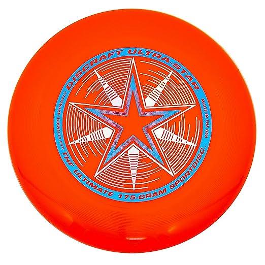 16 opinioni per Discraft- Frisbee Ultrastar, 175 g, arancione