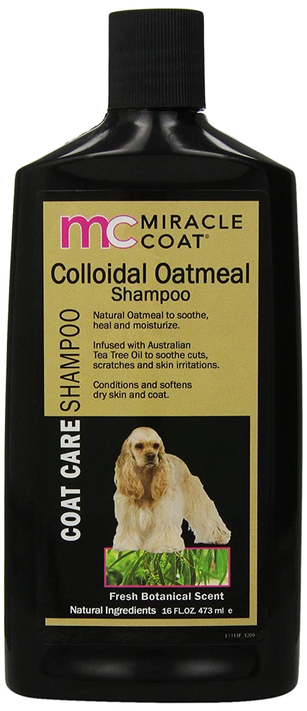 Milagro Care Miracle Coat Perro de harina de avena coloidal Champú, 16 oz: Amazon.es: Productos para mascotas