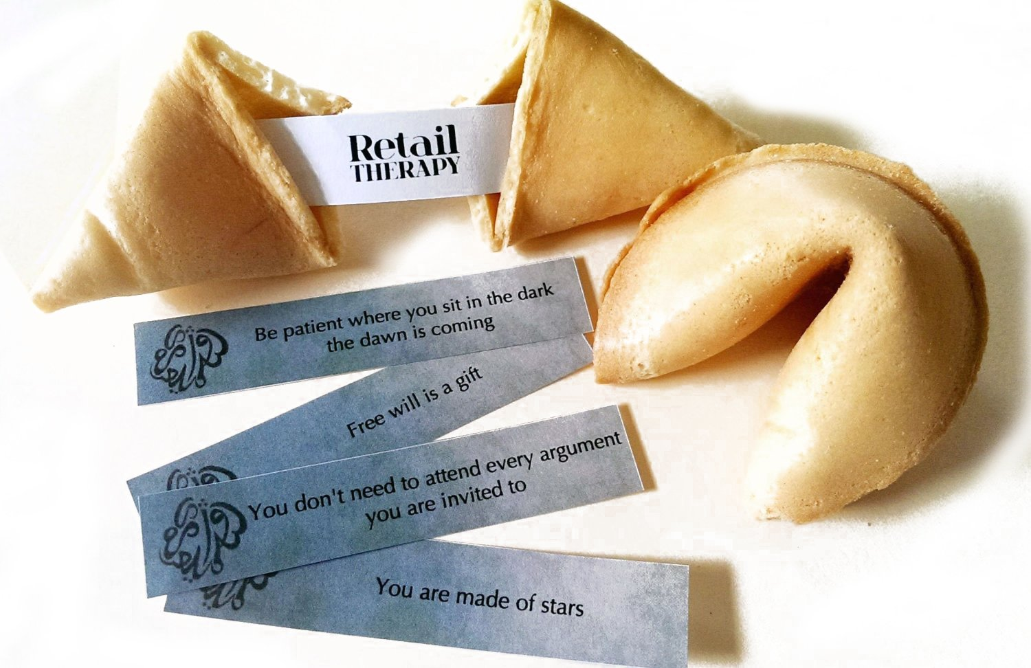 Greenfire Custom Fortune Cookies, for Special Events and Occasions, Full Color Fortune Printing, Premium Vanilla, Bulk Quantity by Greenfire Custom Fortune Cookies (Image #3)