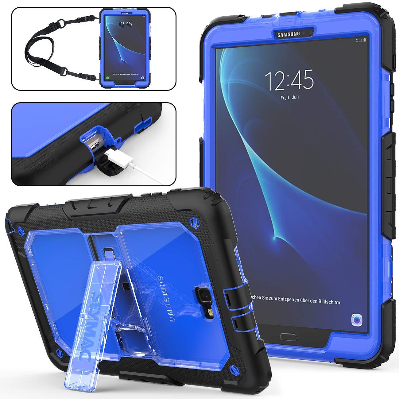 Funda Para Galaxy Tab A 10.1 T580/t585/t587 Con Corre (7TS2)