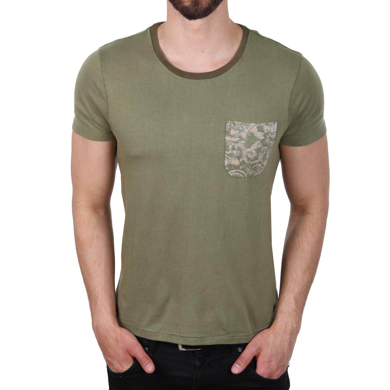 JACK & JONES Men's T-Shirt Olive